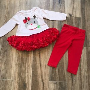 Nannette Baby 24M Reindeer Outfit